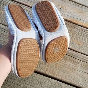 Yosi Samra Shoes - Yosi Samra Serena White Glitter Foldable Flats 8